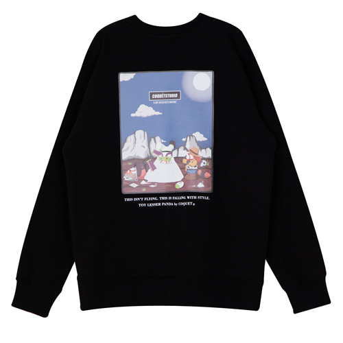 TOY LESSER SWEATSHIRT [BLACK]