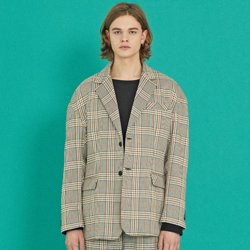 MA-1 SLEEVE CHECK JACKET (OVERFIT)