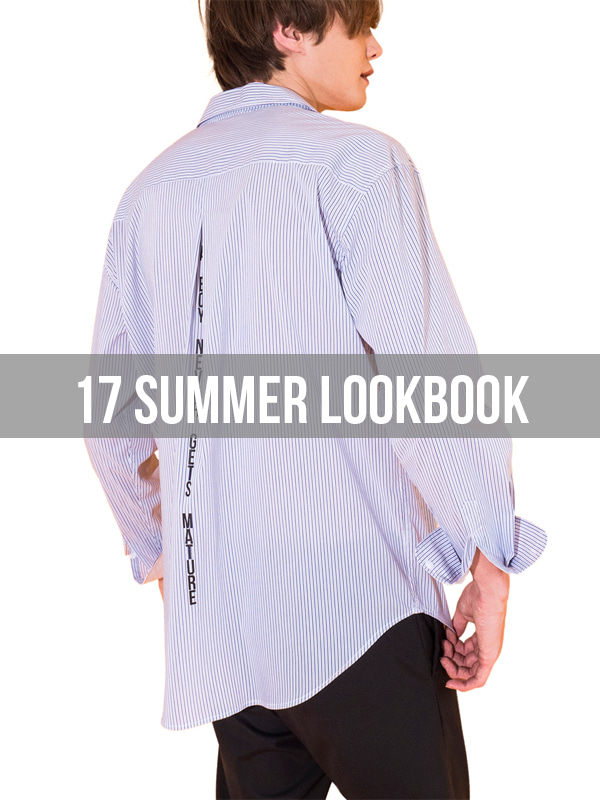 17SUMMER T - SHIRT LOOKBOOK