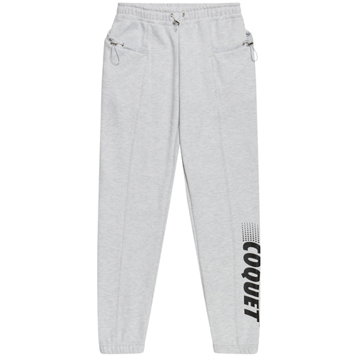 [665g] STRING SWEAT JOGGER PANTS WHITE